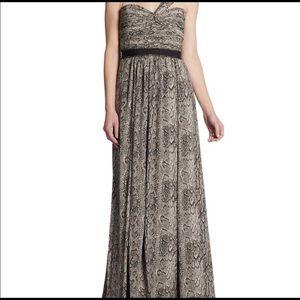 Bcbg Jamille snake gown for prom